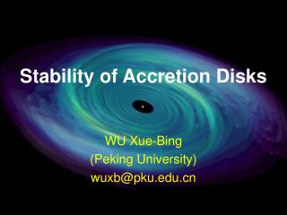 Stability of Accretion Disks