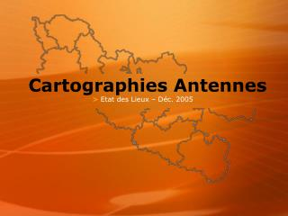 Cartographies Antennes