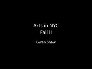 Art in New York City - Day 1