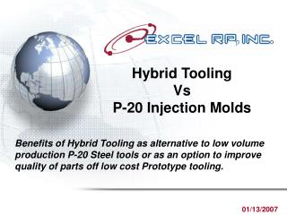 Hybrid Tooling Vs P-20 Injection Molds