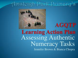 Amsleigh Park Primary s   AGQTP    Learning Action Plan