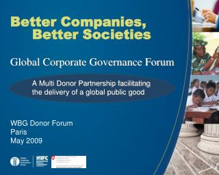 Better Companies, Better Societies