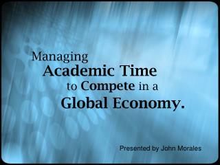 Global Economy.
