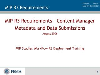 MIP R3 Requirements