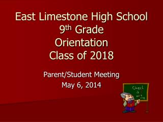 East Limestone High School 9th Grade Pre-Registration Diploma Options