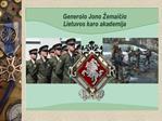 Karininku rengimas Lietuvoje