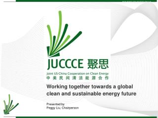 Working together towards a global clean and sustainable energy future