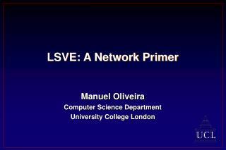 LSVE: A Network Primer