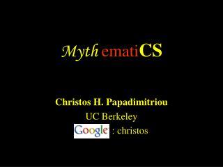 Myth ematiCS