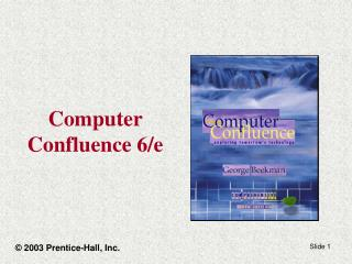 Computer Confluence 6