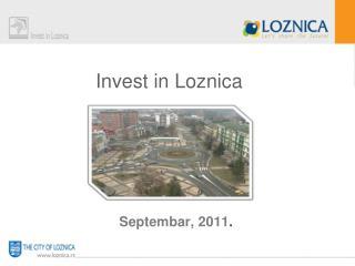 Invest in Loznica