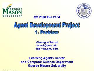 Agent Development Project