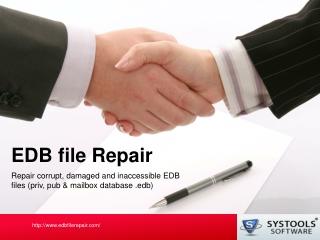 EDB Repair