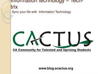 Information technology   Tech-trix