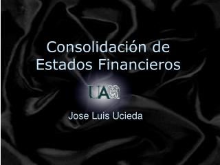 Consolidaci n de Estados Financieros