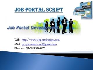 job portal script, job portal script company, job portal scr