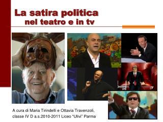 A cura di Maria Tirindelli e Ottavia Travenzoli,  classe IV D a.s.2010-2011 Liceo  Ulivi  Parma