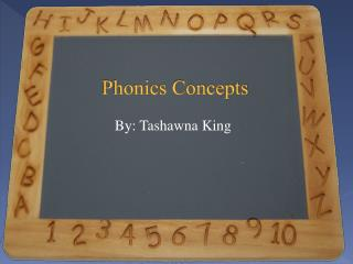 Phonics Concepts