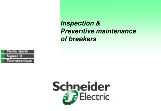 Inspection   Preventive maintenance of breakers