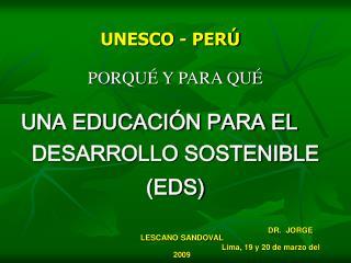 UNESCO - PER