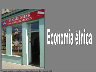 Econom a  tnica