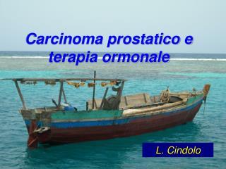 Carcinoma prostatico e terapia ormonale