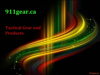 Tactical Gear and Products