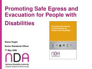 Promoting Safe Egress and Evacuation for People with Disabilities