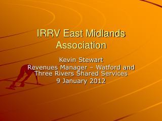 IRRV East Midlands Association