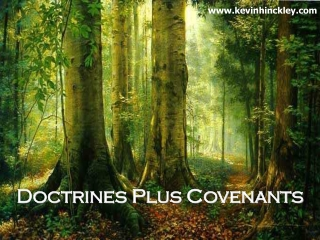 A Survey of the Covenants and Dispensations in the Bible