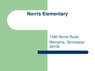 Norris Elementary