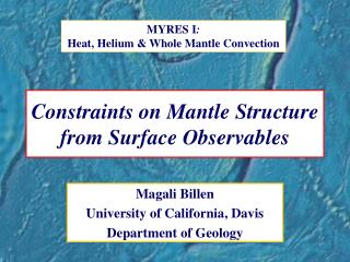 Constraints on Mantle Structure from Surface Observables