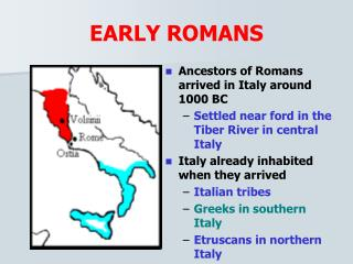 EARLY ROMANS
