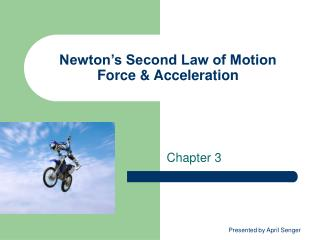 Newton s Second Law of Motion Force  Acceleration