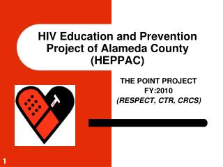 HIV Education and Prevention Project of Alameda County HEPPAC