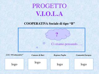 PROGETTO V.I.O.L.A  COOPERATIVA Sociale di tipo  B