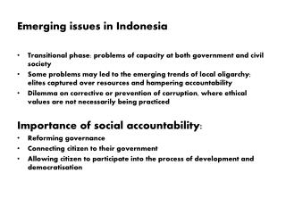 Workshop Mainstreaming Social Accountability in the Curriculum of KID s Democracy School