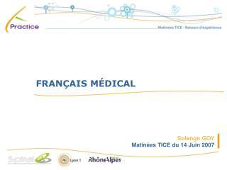 FRAN AIS M DICAL