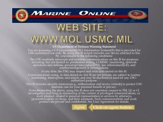 WEB SITE:  molmc.mil