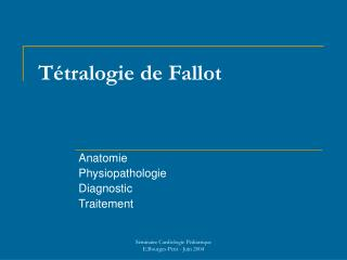 T tralogie de Fallot