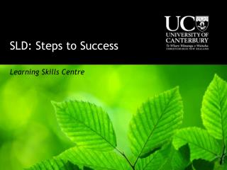 SLD: Steps to Success