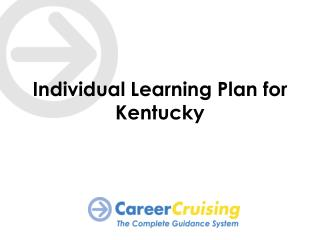 Individual Learning Plan for Kentucky