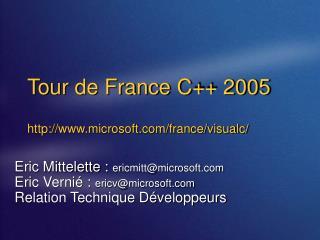 Tour de France C 2005  microsoft