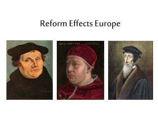 Reform Effects Europe