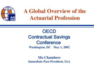 A Global Overview of the Actuarial Profession