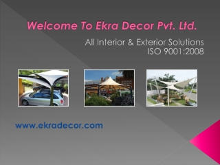 Roofing Shed Manufacturers by Ekra Decor