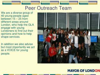 Peer Outreach Team