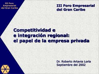 Competitividad e integraci 3n regional: el papel de la ...