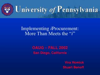 Implementing iProcurement: More Than Meets the  i