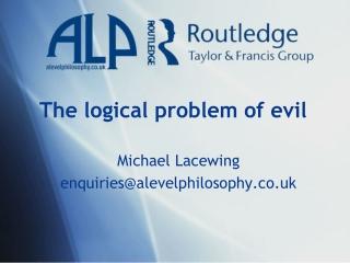 Special Talk    How Can a Good God Allow Evil